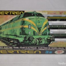 Trenes Escala: RARO CONJUNTO RENFE IBERTREN 3N 102/A. PRIMERA ÉPOCA. 1974. ROMANJUGUETESYMAS. Lote 161691798
