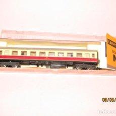 Trenes Escala: ANTIGUO COCHE DE VIAJEROS 1ª CLASE REF. 210 EN ESCALA *N* DE IBERTREN. Lote 163330094