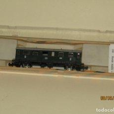 Trenes Escala: ANTIGUO COCHE DE VIAJEROS 2ª CLASE 2 EJES REF. 209 EN ESCALA *N* DE IBERTREN. Lote 163334662