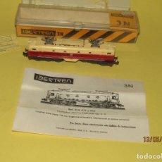 Trenes Escala: ANTIGUA LOCOMOTORA ELÉCTRICA ALSTHOM EN ESCALA * 3-N * REF. 018 DE IBERTREN. Lote 164087850