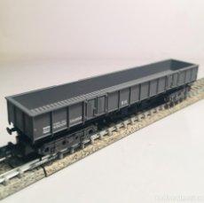 Trenes Escala: IBERTREN N VAGON 412 CARGA 4 EJES BORDES BAJOS (141). Lote 165892034