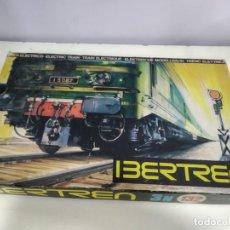 Trenes Escala: ANTIGUA CAJA DE IBERTREN CON PAPELES REF 132. Lote 165938278