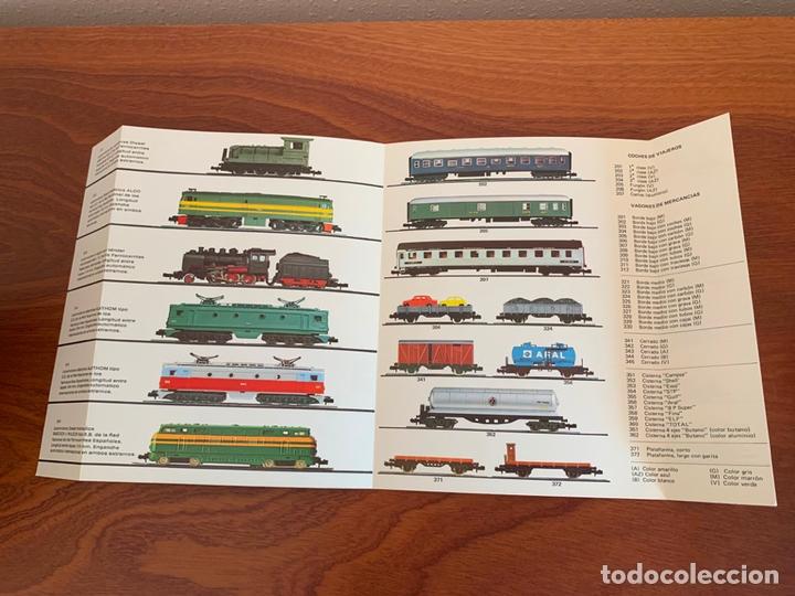 Trenes Escala: IBERTREN N CATALOGO MATERIAL MOVIL 1975 - Foto 2 - 167057200