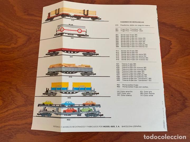 Trenes Escala: IBERTREN N CATALOGO MATERIAL MOVIL 1975 - Foto 3 - 167057200