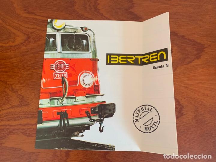 IBERTREN N CATALOGO MATERIAL MOVIL 1975 (Juguetes - Trenes a escala N - Ibertren N)