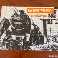 Trenes Escala: IBERTREN N CATALOGO CIRCUITOS 1975. Lote 167057420