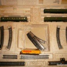 Trenes Escala: VAGONES VIAJEROS IBERTREN N EN CAJA 112 MUY DETERIORADA E INCOMPLETA. Lote 167057896