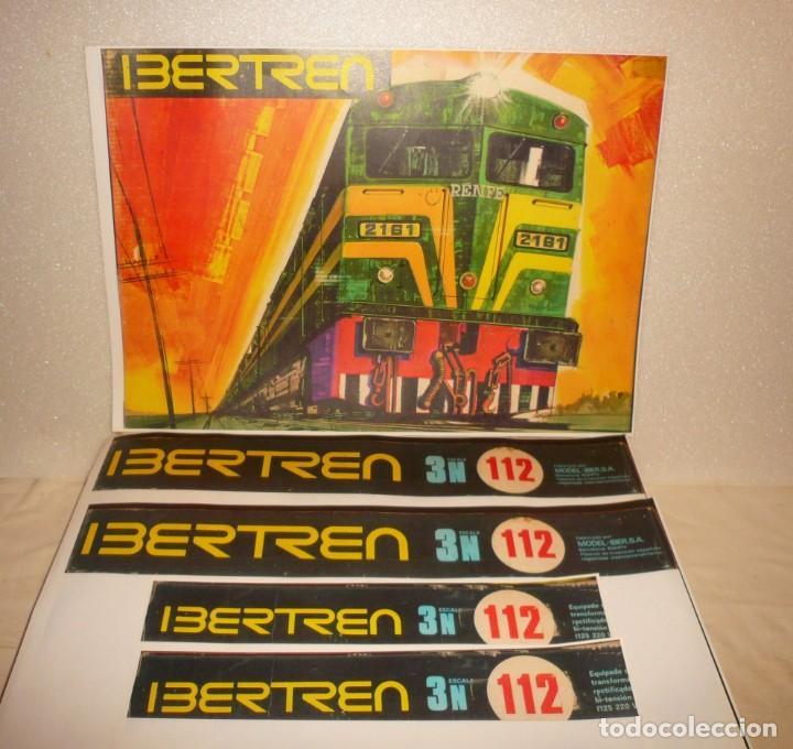 Trenes Escala: VAGONES VIAJEROS IBERTREN N EN CAJA 112 MUY DETERIORADA E INCOMPLETA - Foto 9 - 167057896
