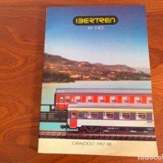 Trenes Escala: IBERTREN N Y H0 CATALOGO 1987-1988. Lote 167058740