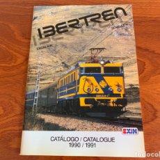 Trenes Escala: IBERTREN N CATALOGO 1990-1991. Lote 167059404