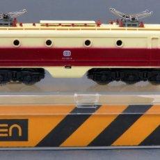 Trenes Escala: LOCOMOTORA ALSTHOM DB IBERTREN 3 N CON CAJA REF 018 FUNCIONA. Lote 167698780