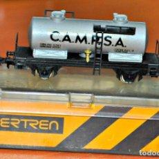 Trenes Escala: VAGÓN CISTERNA 2 EJES CAMPSA DE IBERTREN, REF. 351. ESCALA N. Lote 168123676