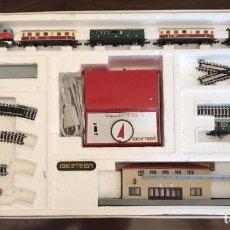 Comboios Escala: TREN ESCALA 3N IBERTREN, 134, TAL Y COMO SE VE EN LAS FOTOGRAFIAS PUESTAS, FUNCIONA BIEN LA LOCOMOTO. Lote 171240544