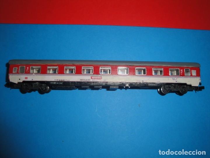 VAGÓN DE PASAJEROS IBERTREN (Juguetes - Trenes a escala N - Ibertren N)