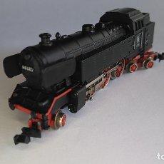 Trenes Escala: IBERTREN 3N LOCOMOTORA VAPOR DE LA DB, S66. FUNCIONA. Lote 174414362