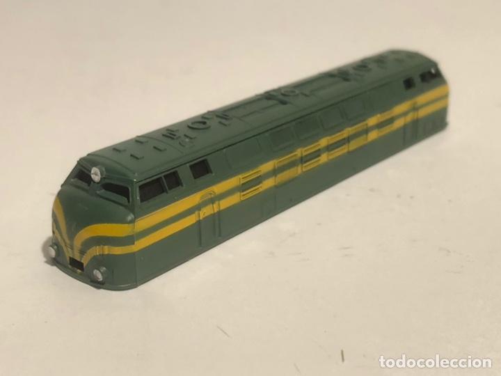 Trenes Escala: IBERTREN CARCASA LOCOMOTORA B.B ESCALA N. NUEVA - Foto 2 - 175402883