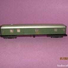 Trenes Escala: ANTIGUO FURGÓN EQUIPAJES RENFE EN ESCALA *N* REF. 205 DE IBERTREN. Lote 175487164