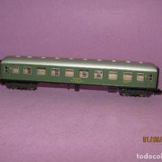 Trenes Escala: ANTIGUO COCHE DE VIAJEROS 2ª CLASE RENFE EN ESCALA *N* REF. 203 DE IBERTREN. Lote 175487307