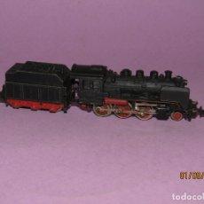 Trenes Escala: ANTIGUA LOCOMOTORA A VAPOR F.F.A. EN ESCALA *3-N* REF. 013 DE IBERTREN. Lote 175494383