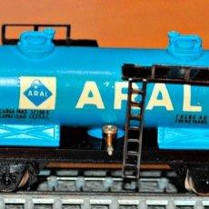 Trenes Escala: VAGÓN CISTERNA 2 EJES ARAL DE IBERTREN, REF. 356. ESCALA N. Lote 175713889