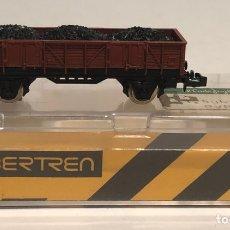 Trenes Escala: IBERTREN VAGÓN DE MERCANCÍAS BORDE MEDIO 2 EJES REFERENCIA 323, ESCALA N. Lote 175757098