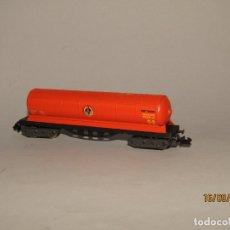 Trenes Escala: ANTIGUO VAGÓN CISTERNA BUTANO REF. 361 EN ESCALA *N* DE IBERTREN. Lote 176661188
