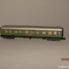 Trenes Escala: ANTIGUO COCHE DE VIAJEROS REF. 201 EN ESCALA *N* DE IBERTREN. Lote 176661889