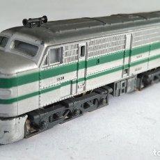Trenes Escala: IBERTREN 3N LOCOMOTORA DIESEL ALCO 1800 RENFE, FUNCIONA. Lote 176729622