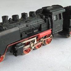Trenes Escala: IBERTREN 3N LOCOMOTORA VAPOR CON TENDER DE LA DB, FUNCIONA. Lote 176730524
