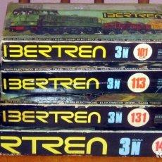 Trenes Escala: IBERTREN 3N LOTE 4 EQUIPOS COMPLETOS 101,113,131,142 VER DETALLES Y FOTOS. Lote 178078927