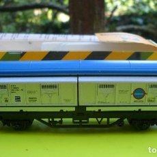 Trenes Escala: VAGON IBERTREN N RENFE CON PUERTAS CORREDERAS REF. 335 Y DESVIO 3N NUEVO. Lote 178597095