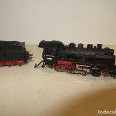 Trenes Escala: LOCOMOTORA IBERTREN VAPOR REF. 1201 F.F.A PARA PIEZAS O REPARAR,BARATA. Lote 179112087