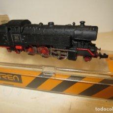 Trenes Escala: IBERTREN LOCOMOTORA DB REF.017 MUY BUEN ESTADO Y COMPLETA CON CAJA,FUNCIONANDO,BARATA. Lote 179112883