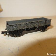 Trenes Escala: IBERTREN VAGON PERFIL BAJO GRIS MUY BUEN ESTADO SIN FALTAS,BARATO. Lote 179112925
