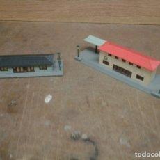 Trenes Escala: ESTACION IBERTREN LOTE DE 2 UNIDADES. Lote 179150366
