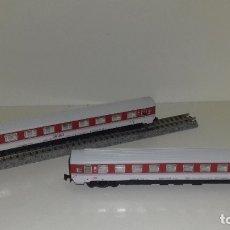 Trenes Escala: IBERTREN N PASAJ 1ª Y 2ªEUROFINA R 294 Y 295L43-183-184 (CON COMPRA DE 5 LOTES O MAS ENVÍO GRATIS). Lote 180398920