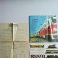 Trenes Escala: CATALOGO , VARIOS , IBERTREN N. Lote 180494497