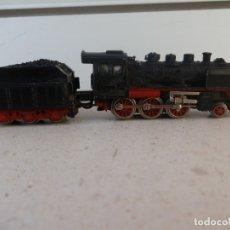 Trenes Escala: ANTIGUA LOCOMOTORA A VAPOR DE IBERTREN, ESCALA 3N. FUNCIONANDO.. Lote 181039487