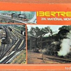 Trenes Escala: CATÁLOGO DE MATERIAL RODANTE DE IBERTREN, ESCALA 3N, AÑO SEPTIEMBRE DE 1977. Lote 181426552