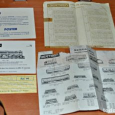 Trenes Escala: DOCUMENTACIÓN DEL EQUIPO REF. 141 DE IBERTREN. ESCALA 3N. Lote 181791422