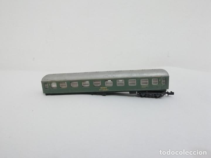 IBERTREN N 203 VAGÓN LITERAS COCHE CAMA 2ª CLASE RENFE REPARACIONES (Juguetes - Trenes a escala N - Ibertren N)