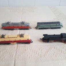 Trenes Escala: LOTE LOCOMOTORAS IBETREN. Lote 182749665
