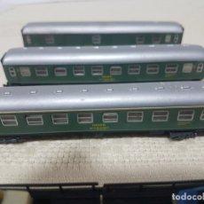 Trenes Escala: LOTE 4 VAGONES IBERTREN . Lote 182784831
