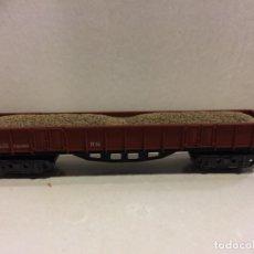 Trenes Escala: IBERTREN - VAGON BORDE ALTO 4 EJES CON ARENA - REF. 413 - N. Lote 183599930