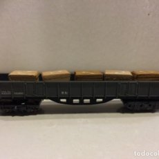 Trenes Escala: IBERTREN - VAGON BORDE ALTO 4 EJES CON CAJAS - N. Lote 183601261