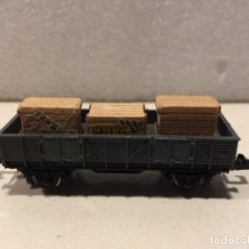 Trenes Escala: IBERTREN - MERCANCIAS BORDE MEDIO CON CAJAS - REF. 330 N. Lote 183981253