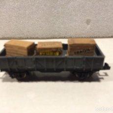 Trenes Escala: IBERTREN - MERCANCIAS BORDE MEDIO CON CAJAS - REF. 330 N. Lote 183981322