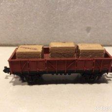 Trenes Escala: IBERTREN - MERCANCIAS BORDE MEDIO CON CAJAS - REF. 329 N. Lote 183981486