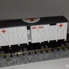 Trenes Escala: IBERTREN N CERRADO J CRUZ ROJAL44-24 (CON COMPRA DE 5 LOTES O MAS ENVÍO GRATIS). Lote 184209110