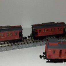 Trenes Escala: IBERTREN N PASAJEROS MZA 2 EJESL44-47(CON COMPRA DE 5 LOTES O MAS ENVÍO GRATIS). Lote 184464718